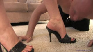 Worshiping Megan's Divine Feet – Femdom foot fetish