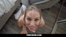 PervMom – Busty Blonde Cougar Seduces Her Husband's Son
