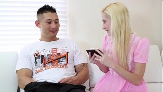 Double Team Triple Dicked Trained On Tiny Blonde – AsianSchlong BananaFever AMWF