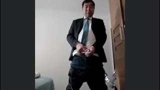 CHINESE OLD MAN MASTURBATION 18